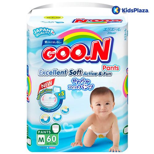 Tã bỉm Goon cho bé có nguồn gốc xuất xứ từ Nhật Bản