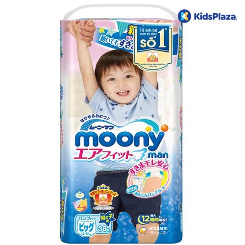 Bỉm Moony cao cấp an toàn cho bé