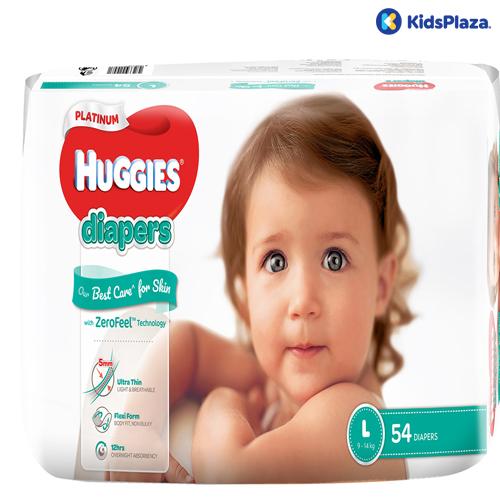 Tã dán Huggies Platinum size L 54 miếng