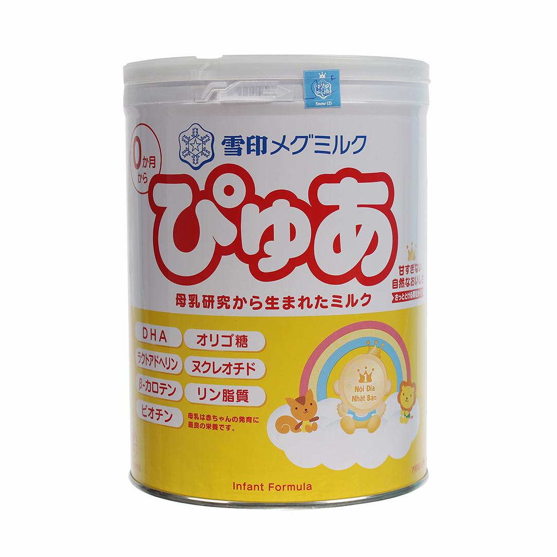 Sữa Snow Baby Nhật số 0 820g (0 - 9 tháng)