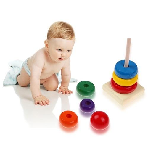 Đồ chơi thông minh cho bé 1 tuổi