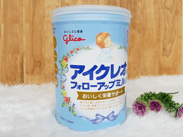 Sữa bột Glico Icreo 1 cho bé