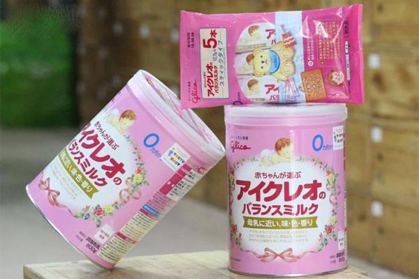 Sữa Glico số 0 nội địa Nhật cho bé