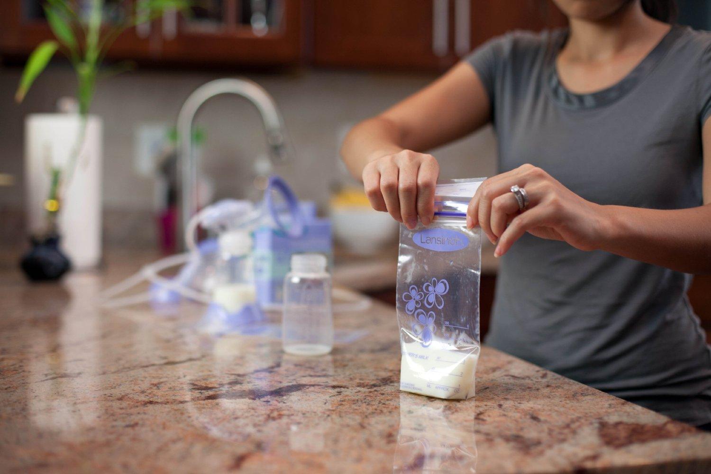 Hướng dẫn sử dụng túi trữ sữa