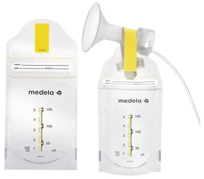 Túi trữ sữa Medela 2m thiết kế thông minh