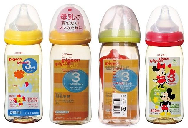 các loại bình sữa cho trẻ sơ sinh