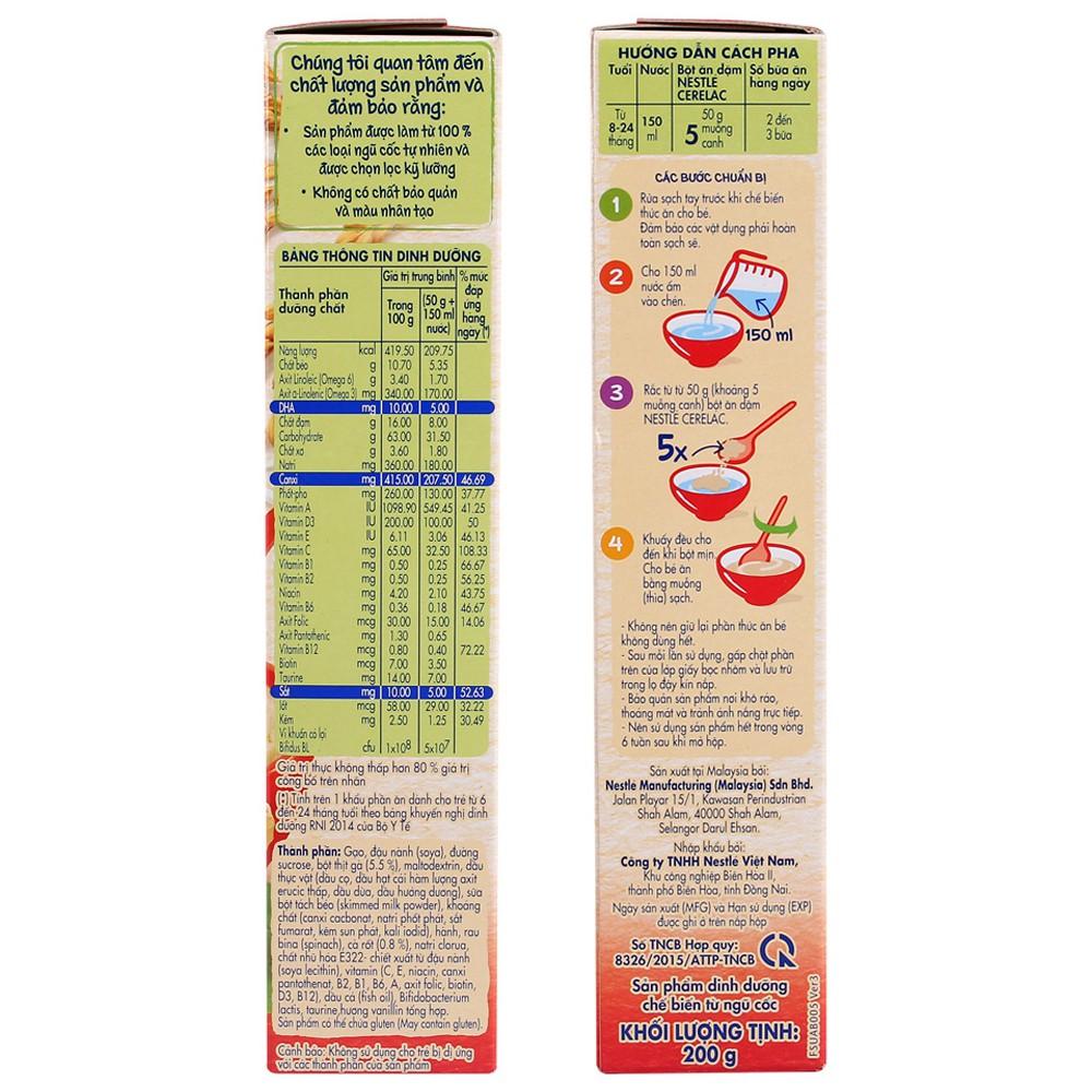 Hướng dẫn cách pha bột ăn dặm Nestle-Cerelac