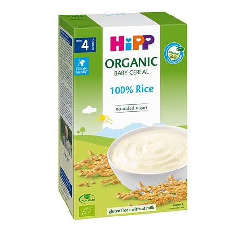 Bột ăn dặm HiPP dành cho các bé từ 4 tháng tuổi trở lên