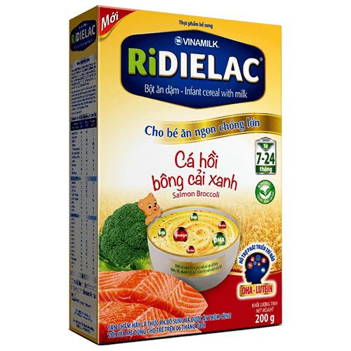 Bột ăn dặm Ridielac thom ngon giàu dinh dưỡng