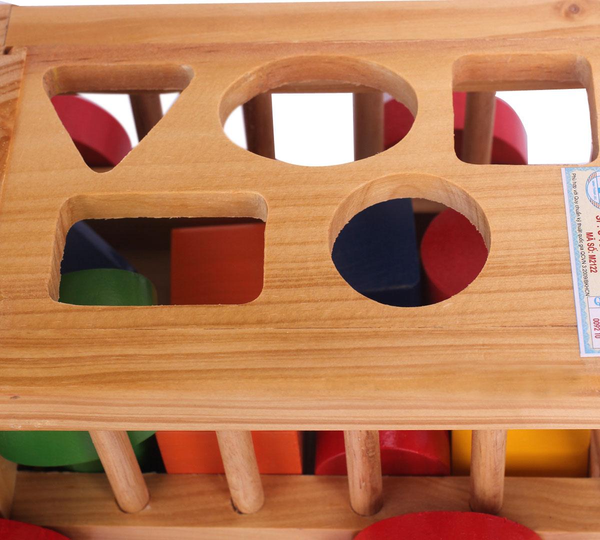 Ô tô thả hình gỗ Kitty thiết kế nổi bật