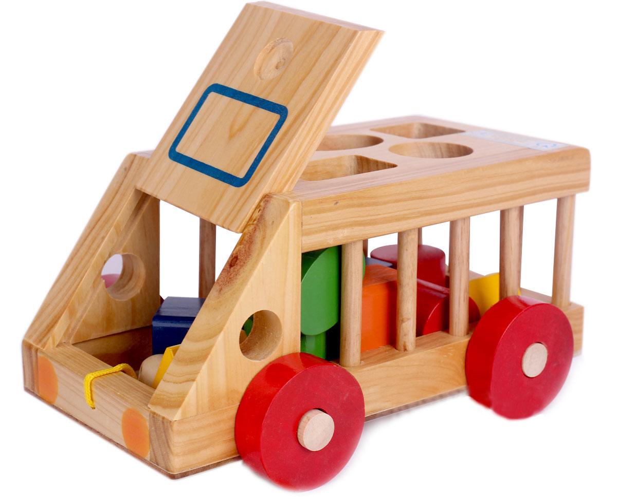 Xe ô tô thả hình gỗ Kitty được các bé ưa thích