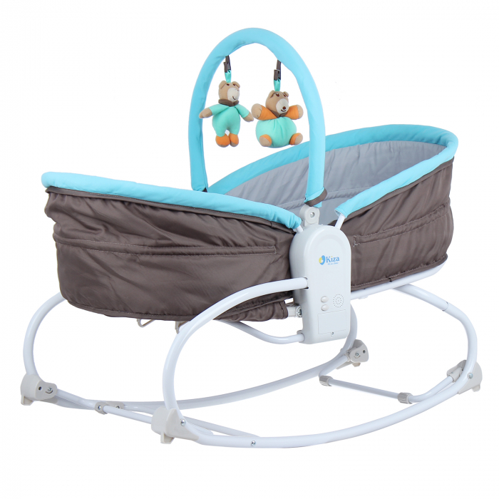 Ghế rung KidsPlaza 3in1 Crown cho bé sơ sinh