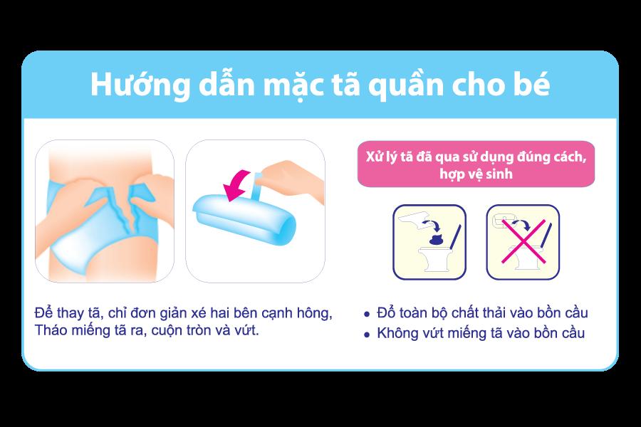 Bỉm Tã quần Goon Premium size XL 52 miếng
