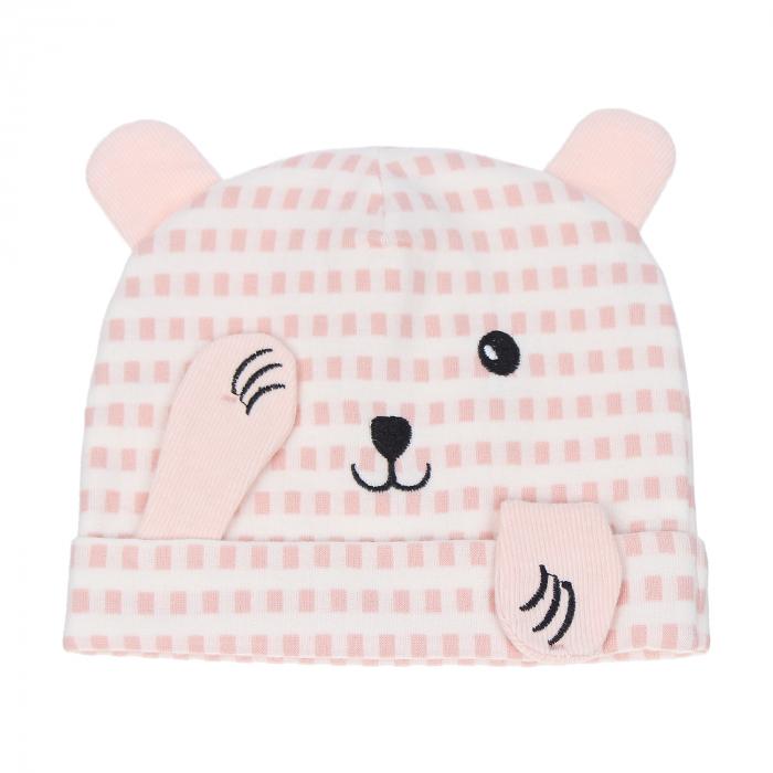 Mũ sơ sinh in hình gấu KidsPlaza