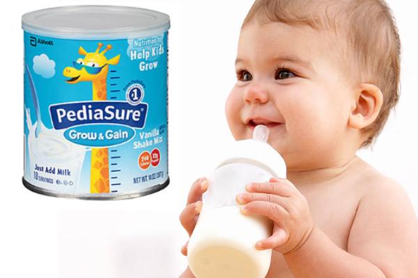 Sữa Pediasure - giải pháp số một cho trẻ biếng ăn