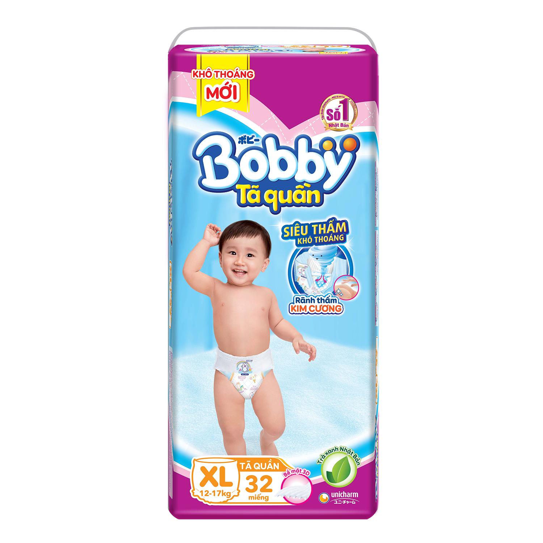 Bỉm - Tã quần Bobby size XL - 32 miếng