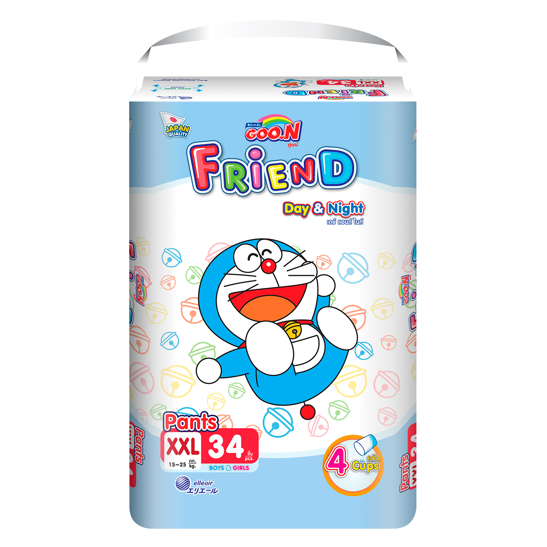 Bỉm quần Goon Friend size XXL 34 miếng