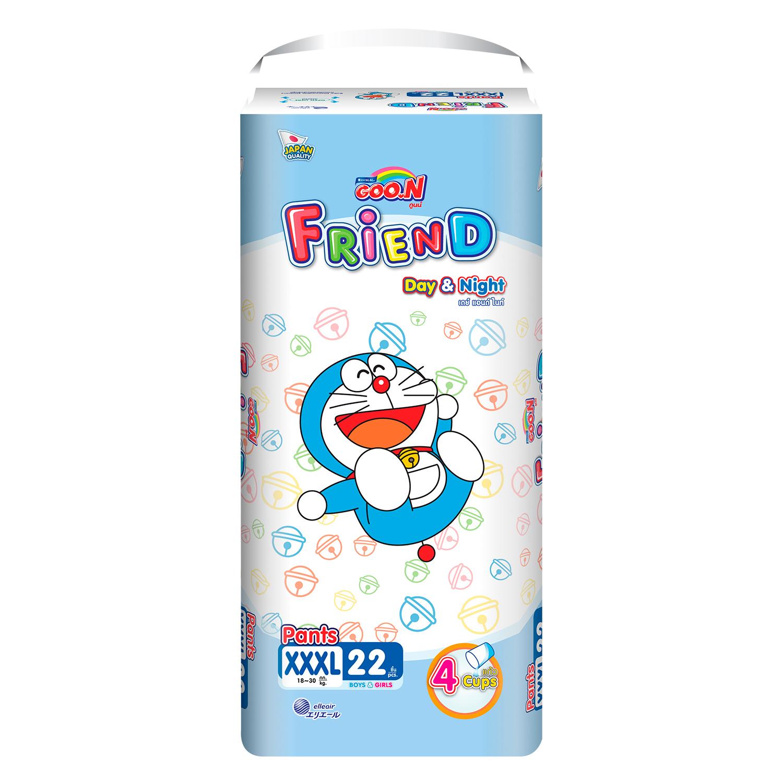 Bỉm - Tã quần Goon Friend size XXXL - 22 miếng (cho bé 18-30kg)