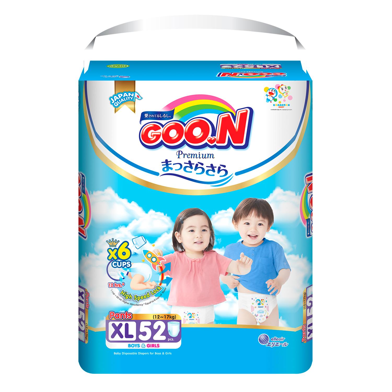 Tã quần Goon Premium size XL 52 miếng