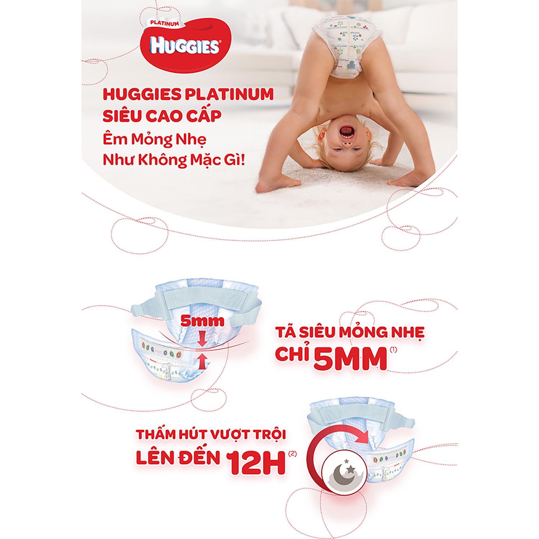 Tã dán Huggies Platinum siêu cao cấp L54