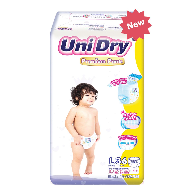 tã quần unidry premium L54