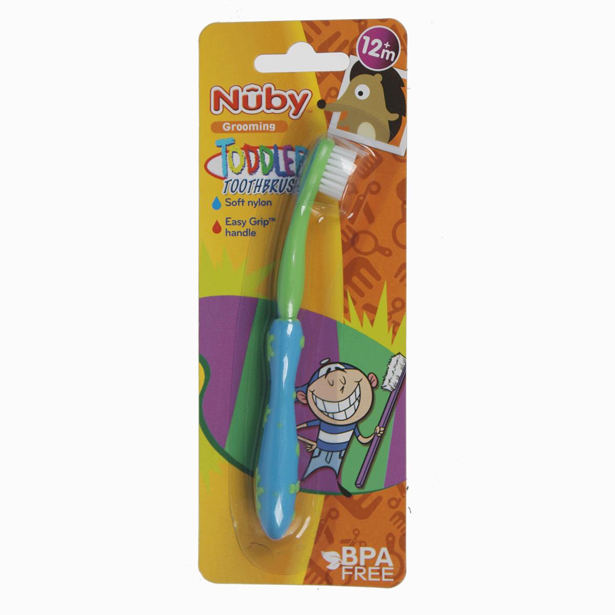 Bàn chải đánh răng cho bé siêu mềm NuBy