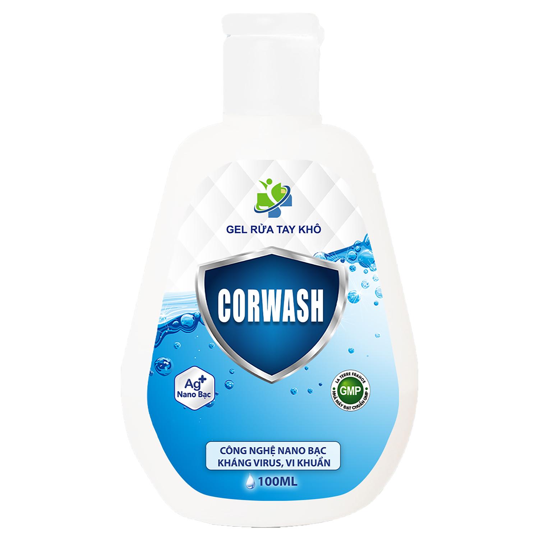 Gel rửa tay khô corwash 100ml