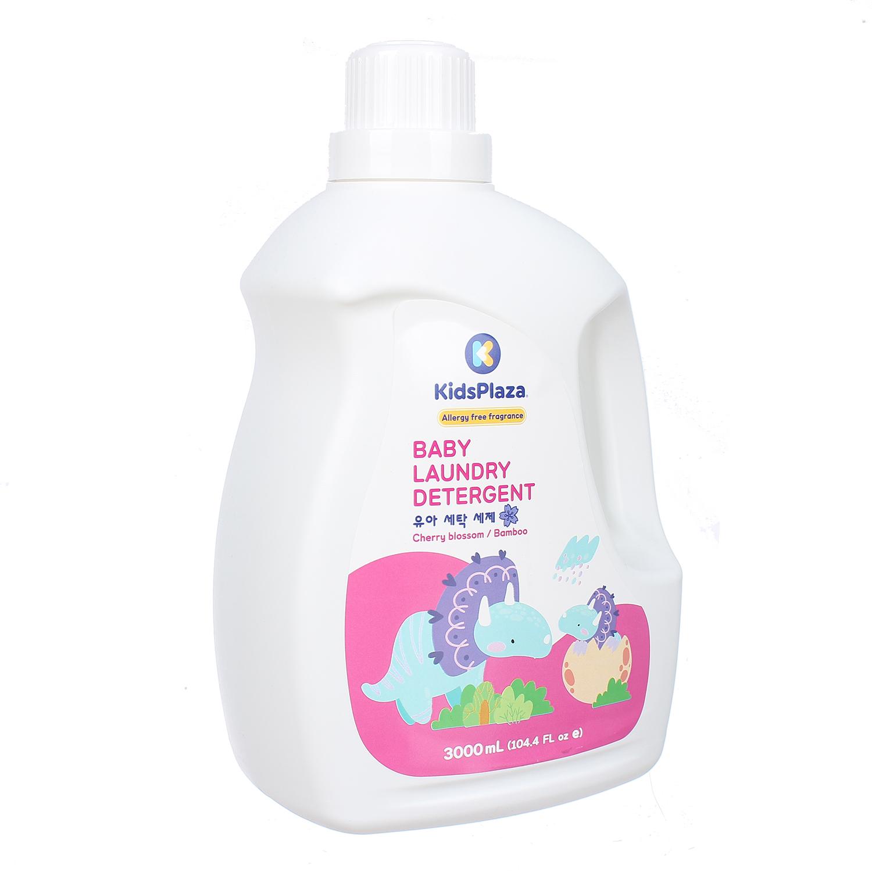 Nước giặt KidsPlaza Nature hương hoa anh đào 3000ml mùi thơm dịu nhẹ