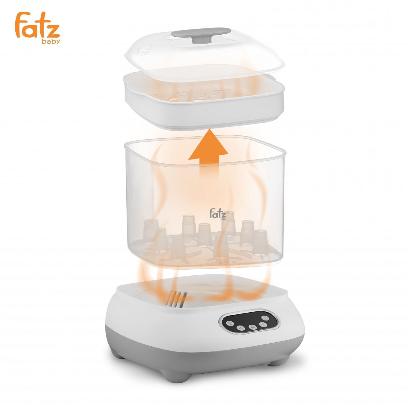 Công dụng của máy tiệt trùng bình sữa Fatzbaby