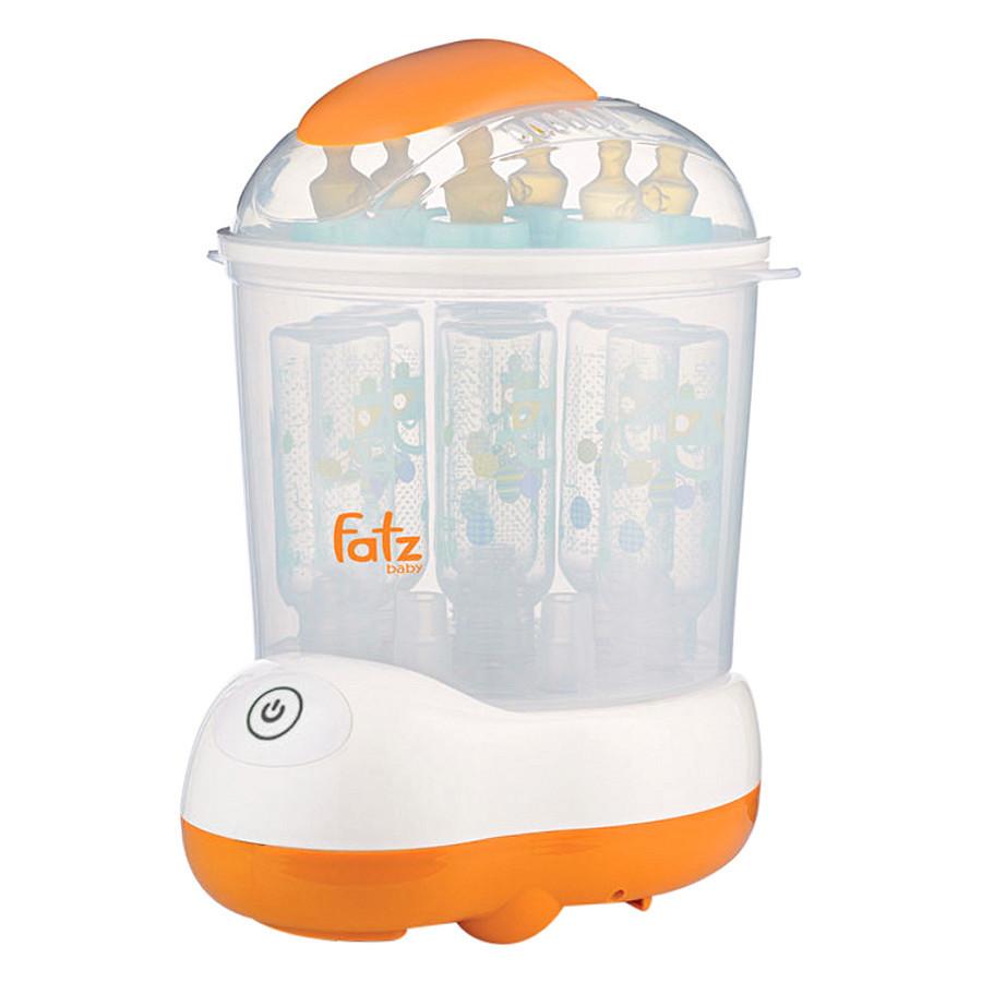 Máy tiệt trùng và sấy khô bình sữa Fatzbaby FB4906SL Hàn Quốc khoang chứa đồ rộng