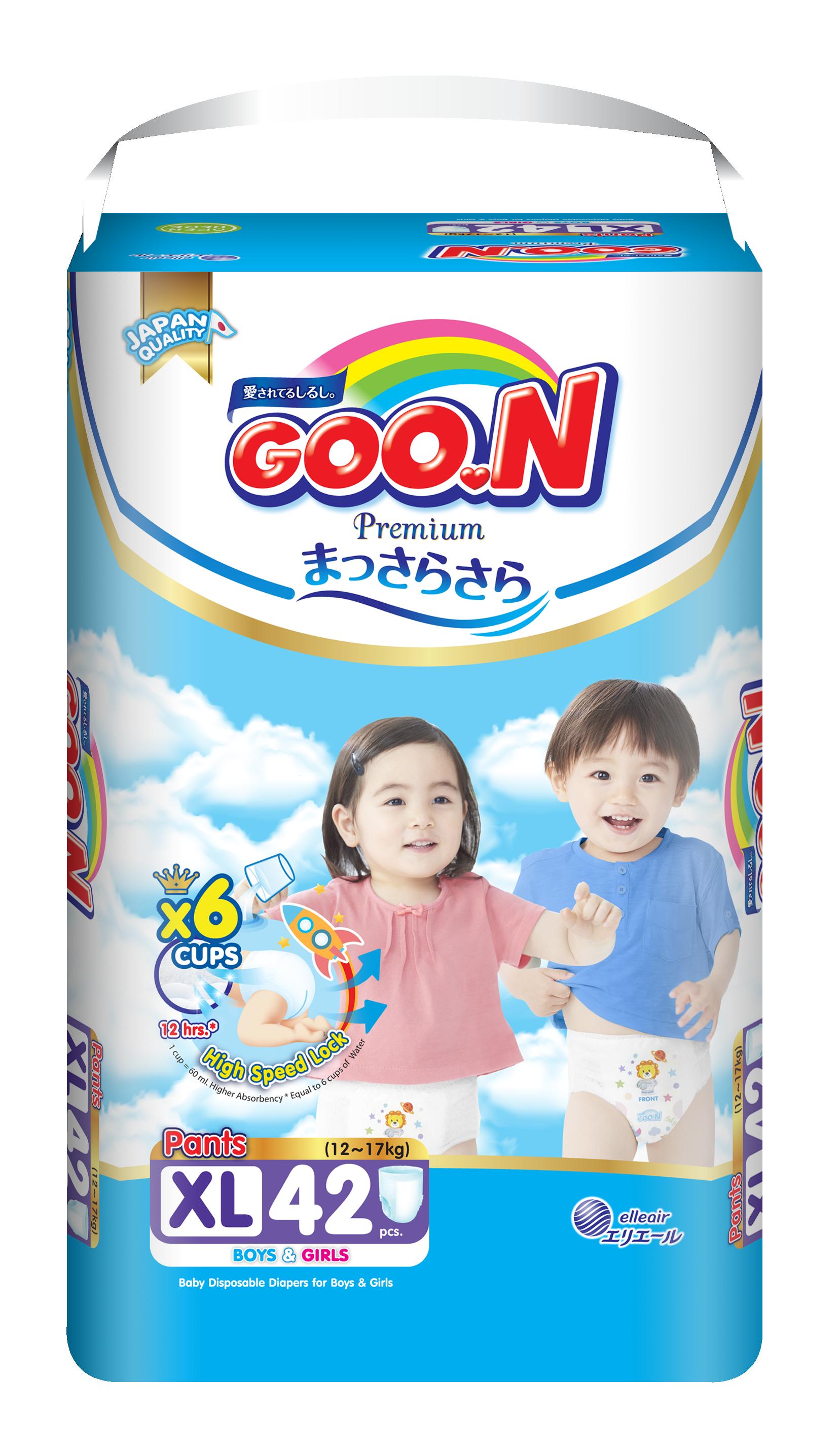 Tã quần Goon Premium size XL 42 miếng