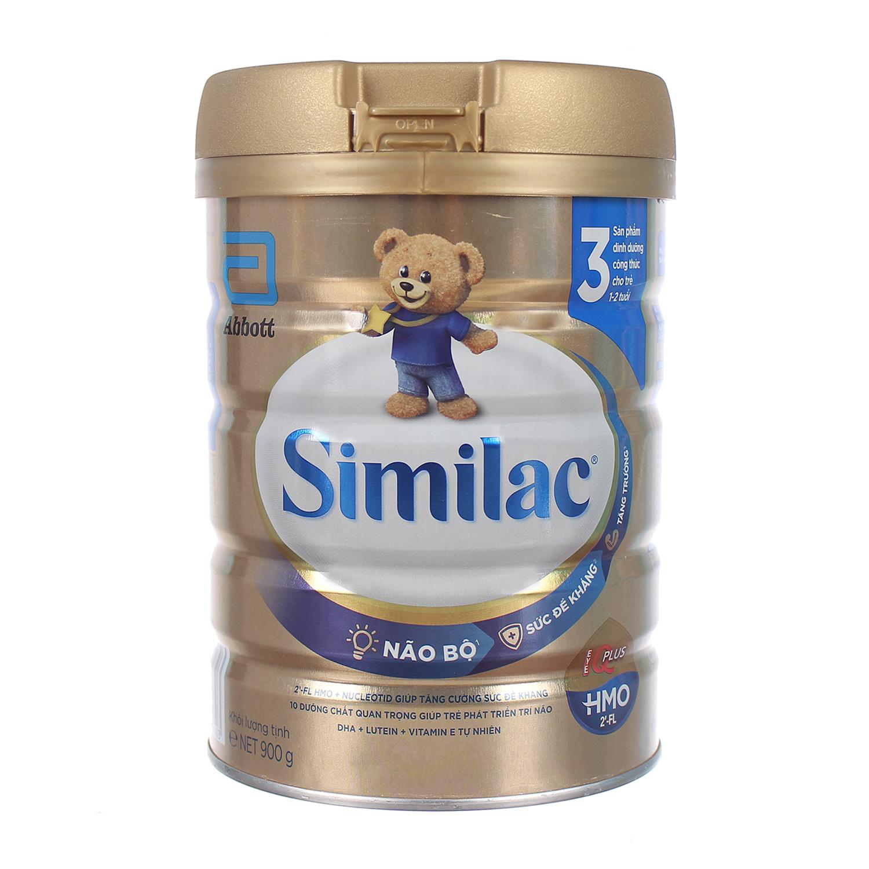 Sữa Similac IQ HMO Gold Lable số 3 900g (1-2 tuổi)