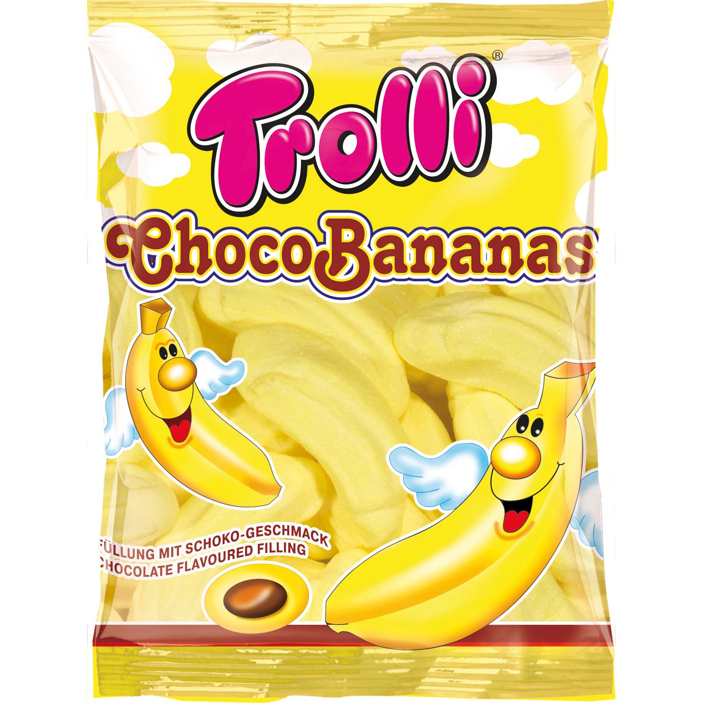 Kẹo dẻo Trolli Choco Bananas