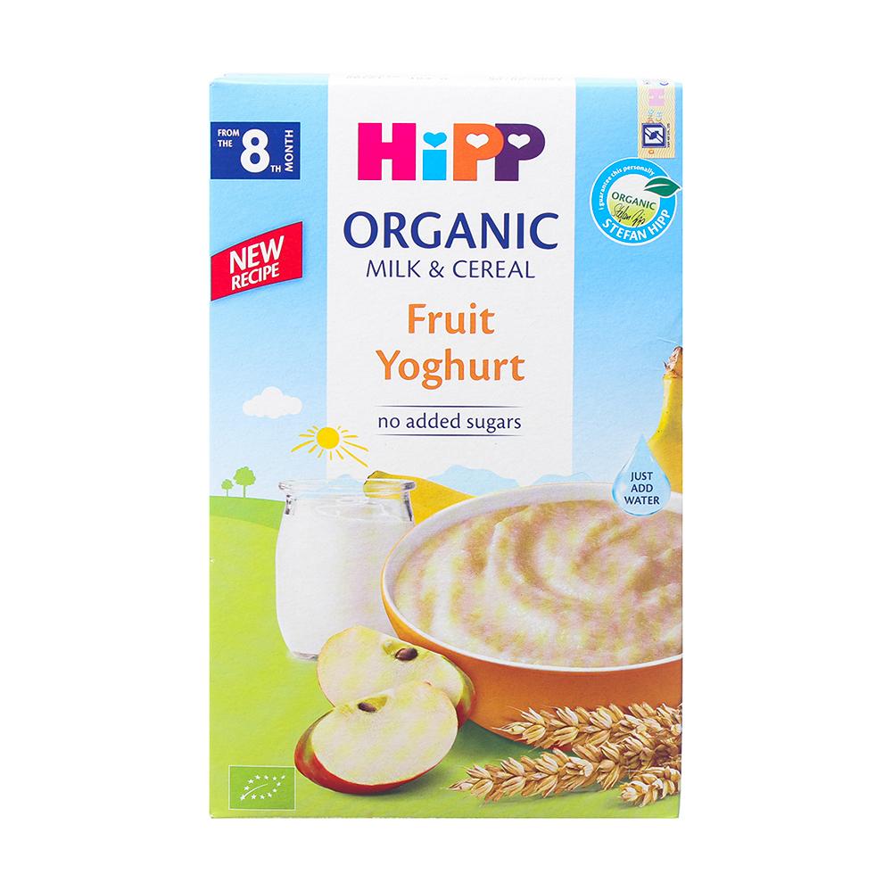 Bột ăn dặm HiPP vị hoa quả - sữa chua 250g