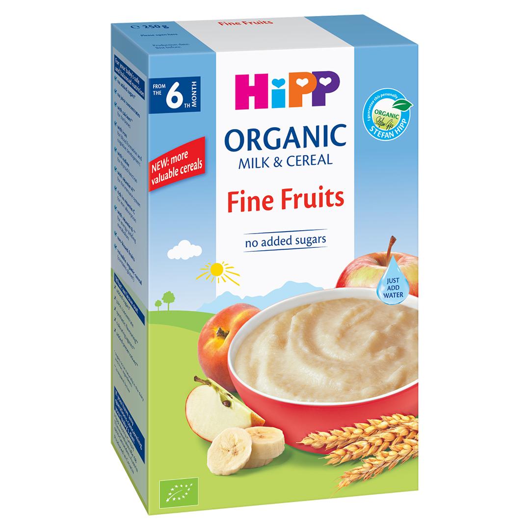 Bột ăn dặm HiPP hoa quả tổng hợp 250g