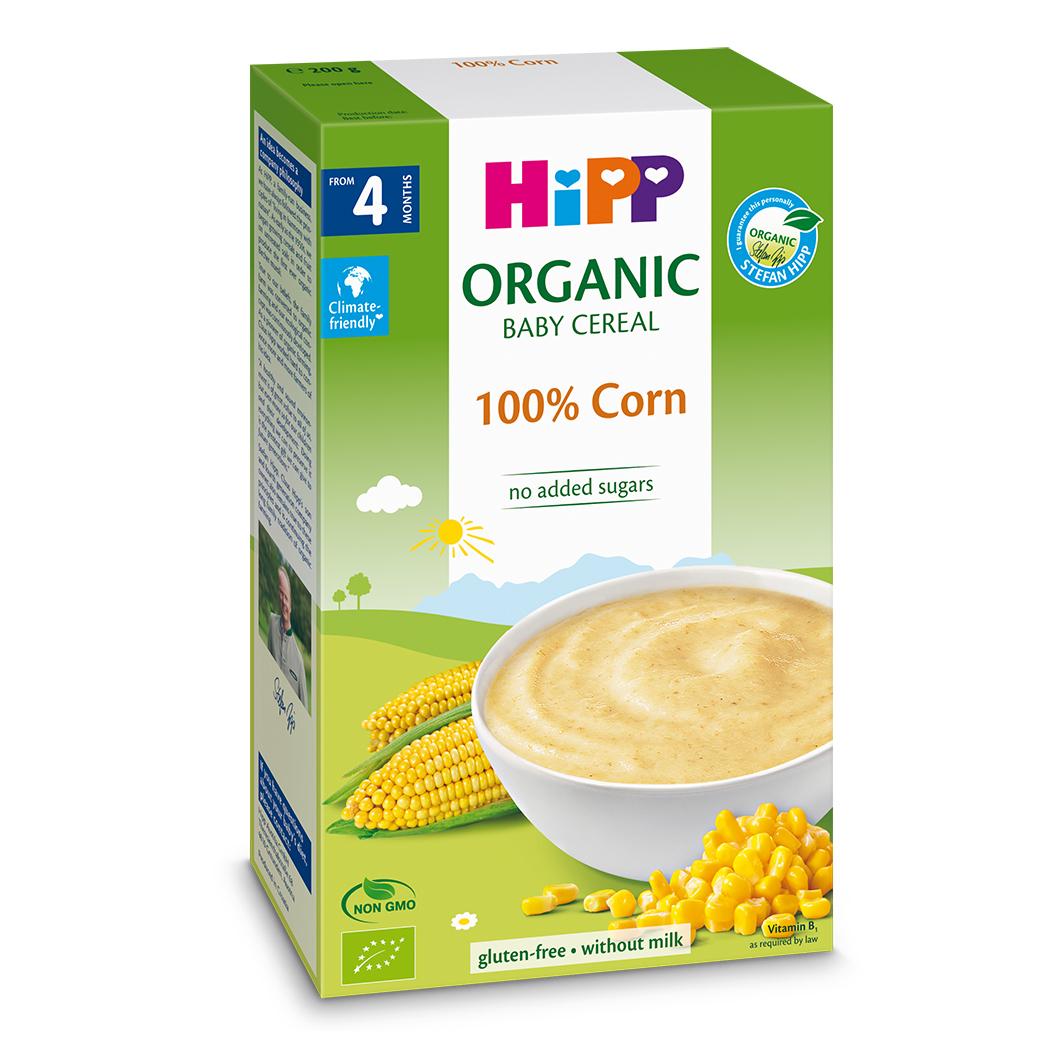 Bột ăn dặm HiPP ngũ cốc bắp non 200g