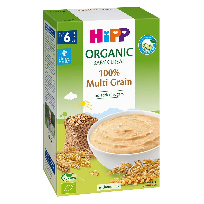 Bột ăn dặm HiPP vị ngũ cốc tổng hợp 200g
