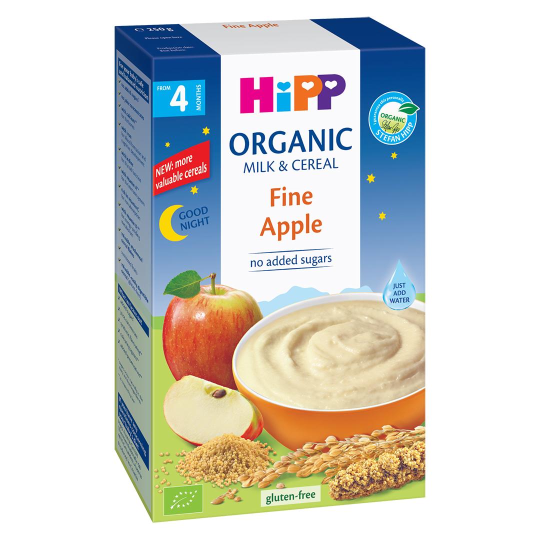 Bột ăn dặm HiPP vị táo tây 250g