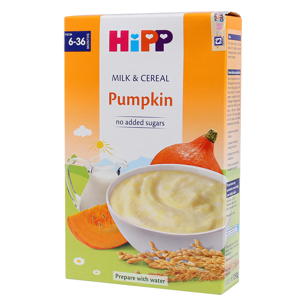 Bột ăn dặm HiPP vị rau củ bí đỏ 250g
