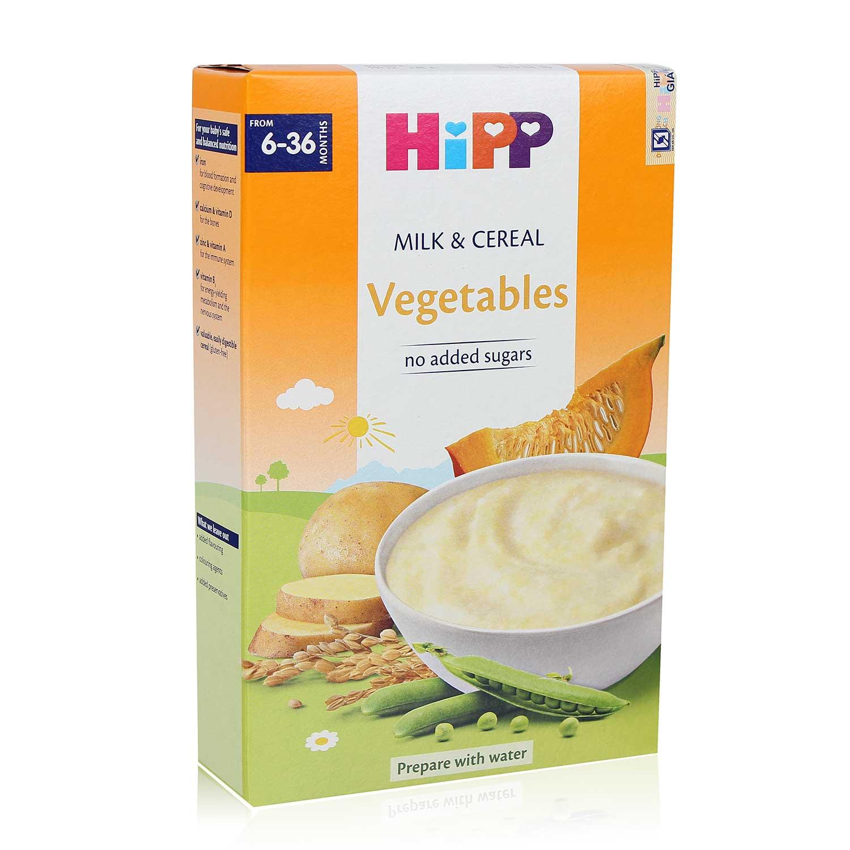 Bột ăn dặm HiPP rau củ tổng hợp dành cho bé 6-36M