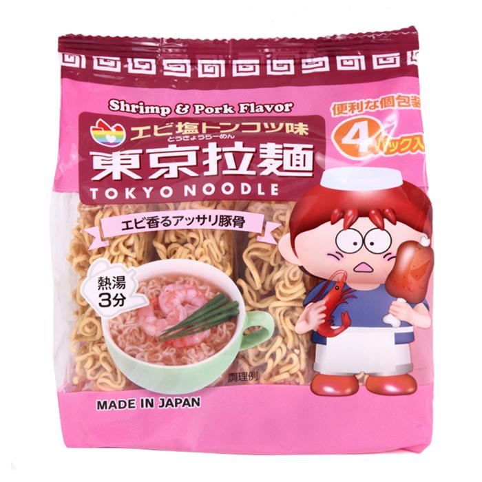 Mỳ Tokyo-ramen vị tôm 120g NHAT.NK cho bé trên 1 tuổi