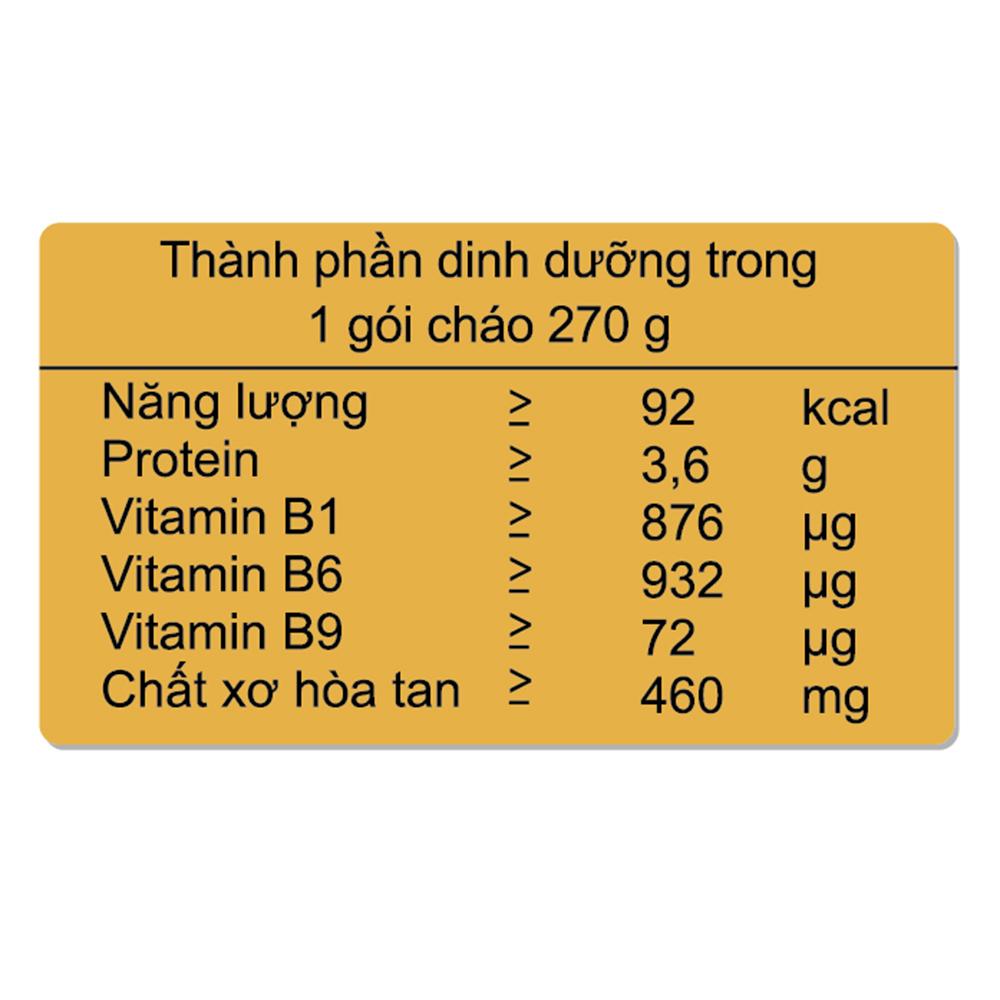 Cháo tươi Sài Gòn Food vị cá hồi & đậu hà lan 6M+