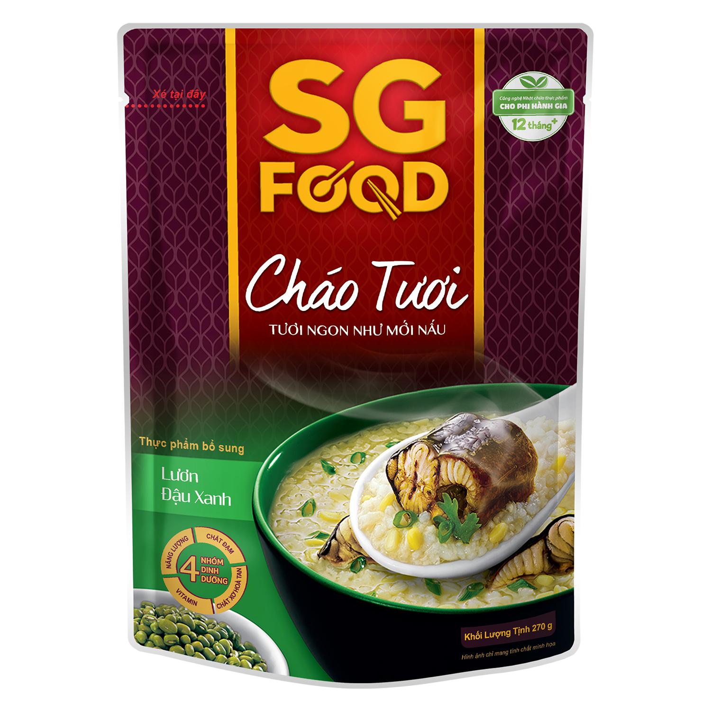 Cháo tươi Sài Gòn Food vị lươn đậu xanh