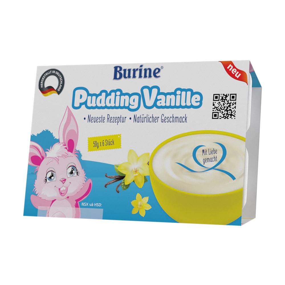 Cháo sữa Pudding Burine Vani