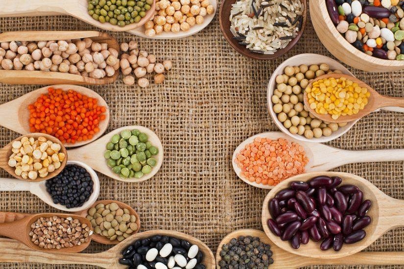 các loại hạt ngũ cốc cho bé ăn dặm