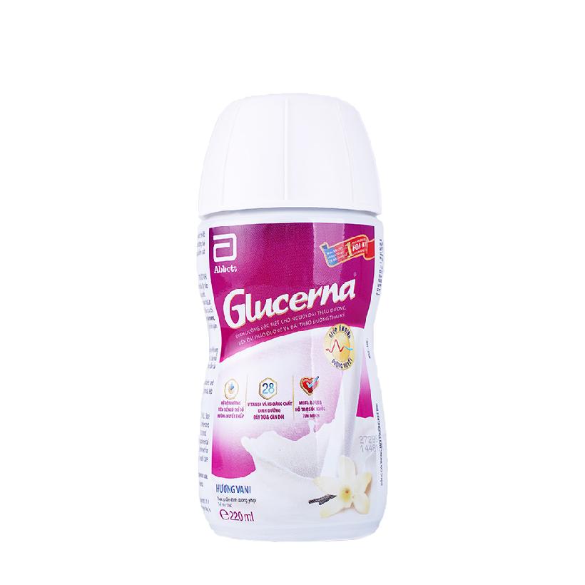 Sữa nước Glucerna hương vani 220ml