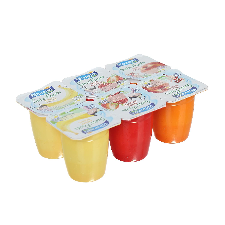 Sữa chua pho mai Paturages 6x50g cho bé trên 6 tháng tuổi