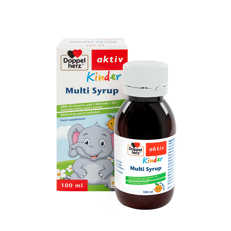 siro ăn ngon cho bé Kinder Multivitaminsyrup 100ml