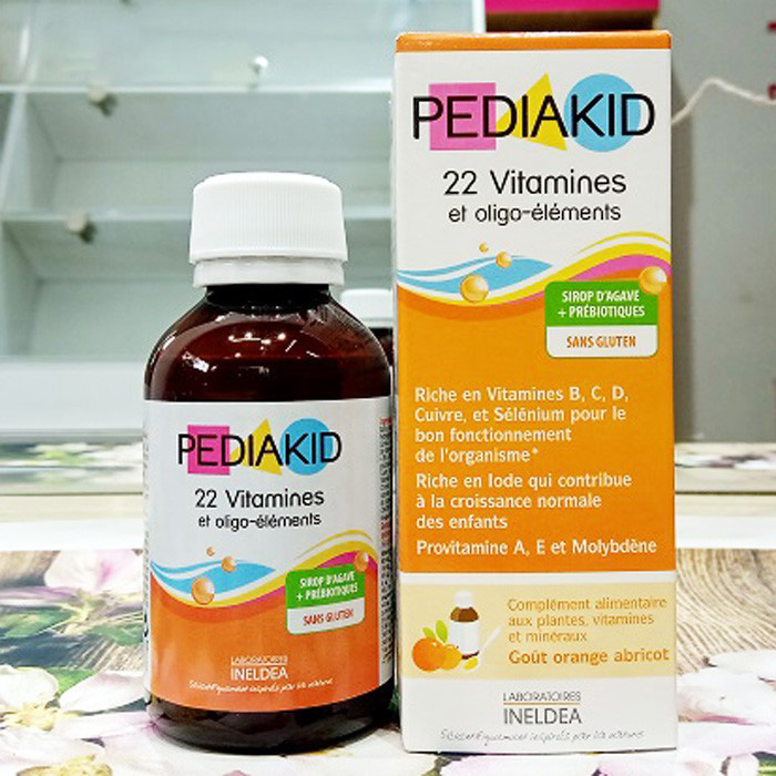 Pediakid Appetit Tonus cho trẻ biếng ăn