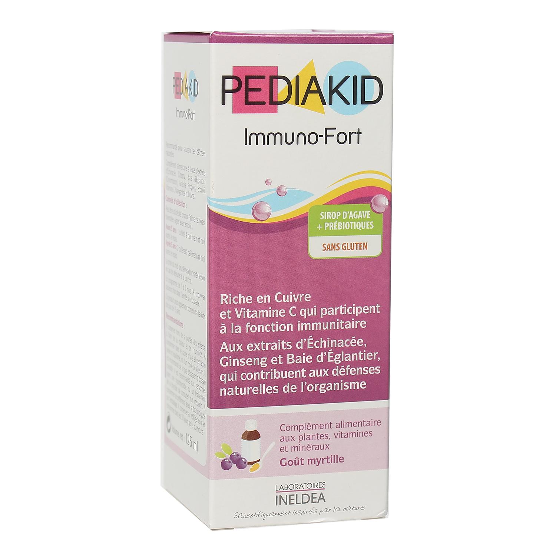 vitamin tăng sức đề kháng Pediakid Immuno Fort 125ml